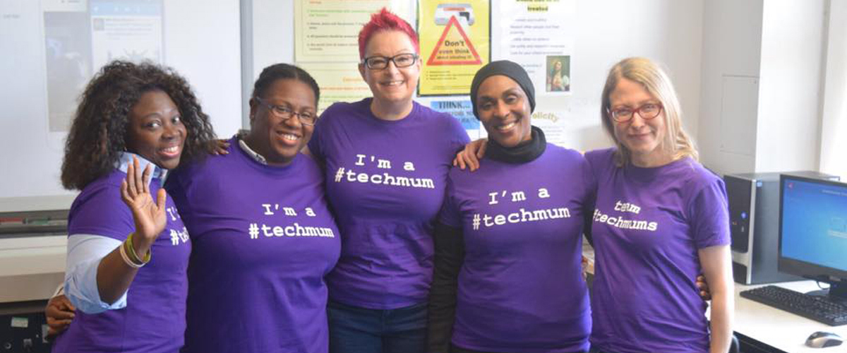 Mums who have completed the #techmums course