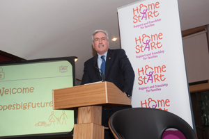 Iain Gray MSP hosts Home-Starts Scottish Parliament event (Alan McCredie)