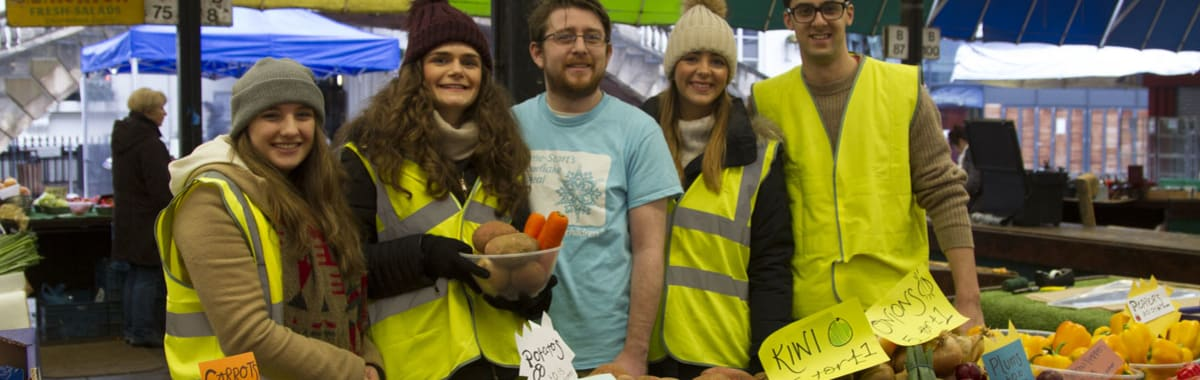 Students  raise money for Home-Start with Dunelm