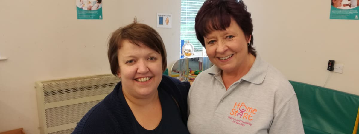 Rachel and Debbie from Home-Start Wirral