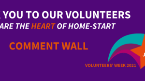 What does a Home-Start volunteer mean to you?