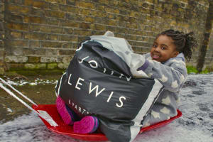 John Lewis donates warm clothing to thousands of Home-Start families