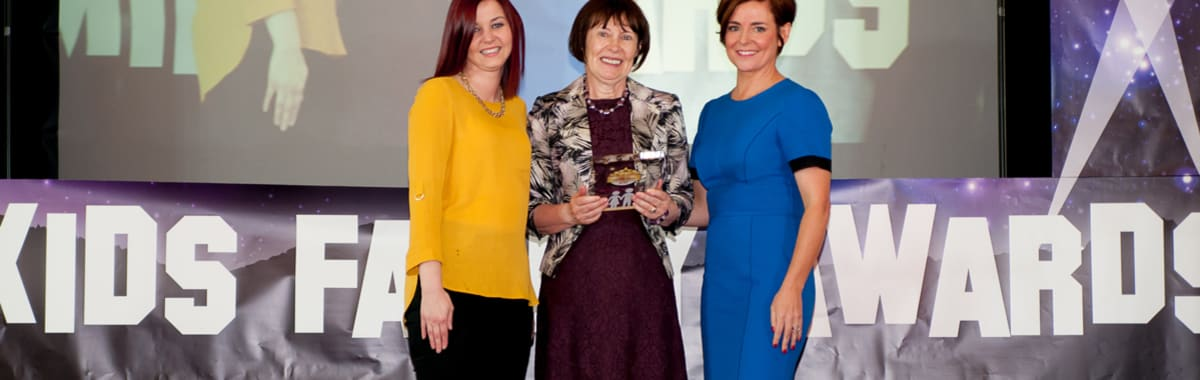 Omagh District volunteer receives prestigious award