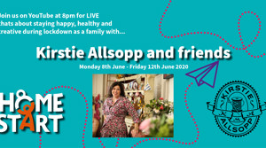 Kirstie Allsopp went LIVE for Home-Start UK